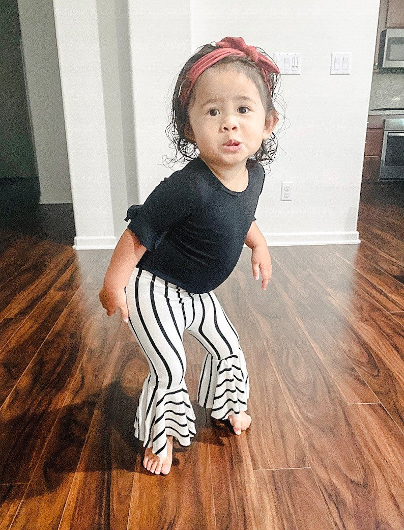 baby bells toddler bell bottoms BABY BELL BOTTOMS baby girl clothes handmade in extra soft knit available in full or semi full bells