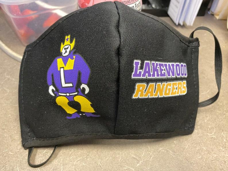 Lakewood Rangers 'ANTI FOG' Face Mask image 0