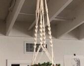 Macrame plant hanger, wall hanging, minimal boho decor