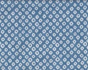 Shibori light blue doubleface Japan fabric cotton fabric cottonlinen 50 cm x 110 cm 20.90 Eurmeter by metre
