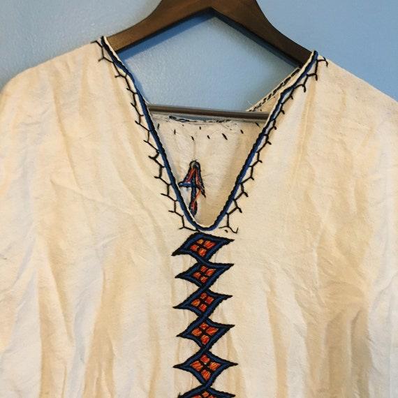 vintage CAFTAN TUNIC KAFTAN midsommar vestment cul