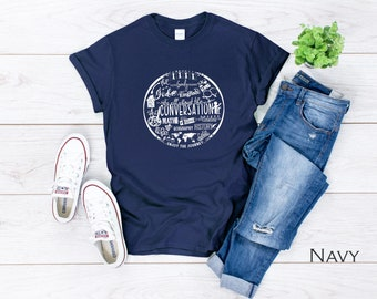 It's All About the Conversation! CC Classical Conversations T-shirt Unisex/Womens V