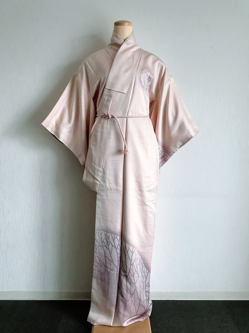 Chic pattern Vintage Japanese kimono