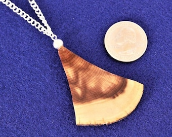 Wood Jewelry, Wood Pendant, Wood Necklace, Wooden Pendant, Wooden Necklace, Driftwood Necklace , JK321