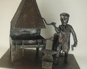 Gary Thrussell Blacksmith Diorama