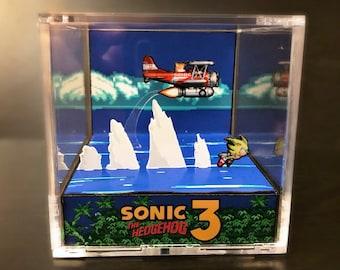 Sonic The Hedgehog 3 Diorama Cube: Super Sonic