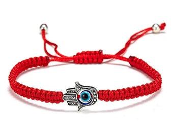 hamsa bracelet red