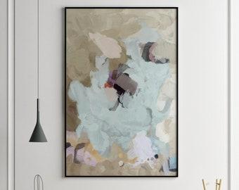 Large Wall Art, Abstract Art, Abstract Painting, 18x24 Abstract Painting 24 x 36 Wall Art, Gallery Wall Art, Giclee Print Large Abstract Art