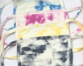 Cloudy Tie Dye, fashion mask, Free shipping Same Day, Best Selling Face Mask, Reusable, Washable, Handmade, Made in USA