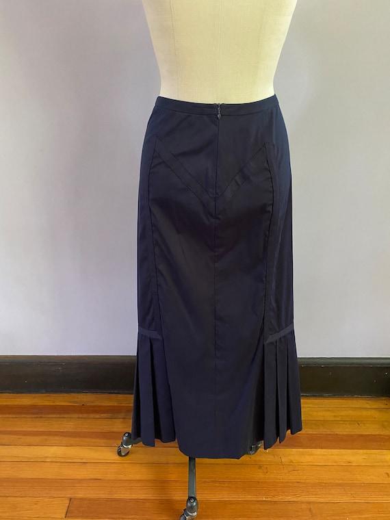Vintage Prada Mermaid maxi skirt. Gorgeous pleats