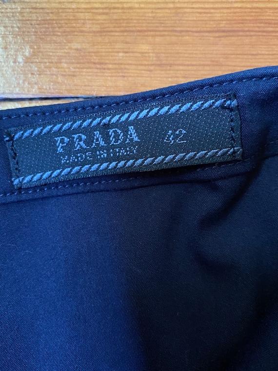 Vintage Prada Mermaid maxi skirt. Gorgeous pleats… - image 5