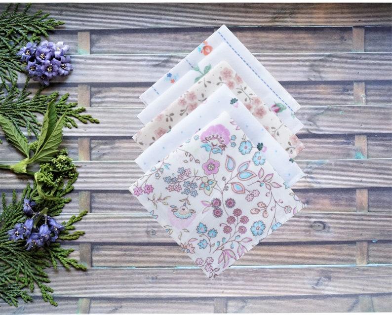 5 fabric handkerchiefs special offer basic color selectable Children women men Zero Waste ecologically environmentally friendly reusable sustainable