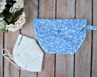 Bag for FFP2 Masks Mouth- Nose Masks Make-up pads Still inserts Key Glasses Handkerchief Makeup Cosmetic Masks