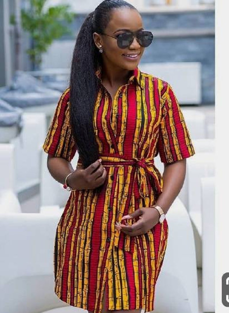African women dress,African midi kimono short dress,African clothing for women African prom dress,African grown,kente dress for women