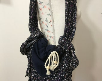 bag / tote bag / Beach / Printanier (gift girl, mom, teenager, wedding, birth, birthday)