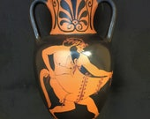 Red Figure Amphora Reproduction