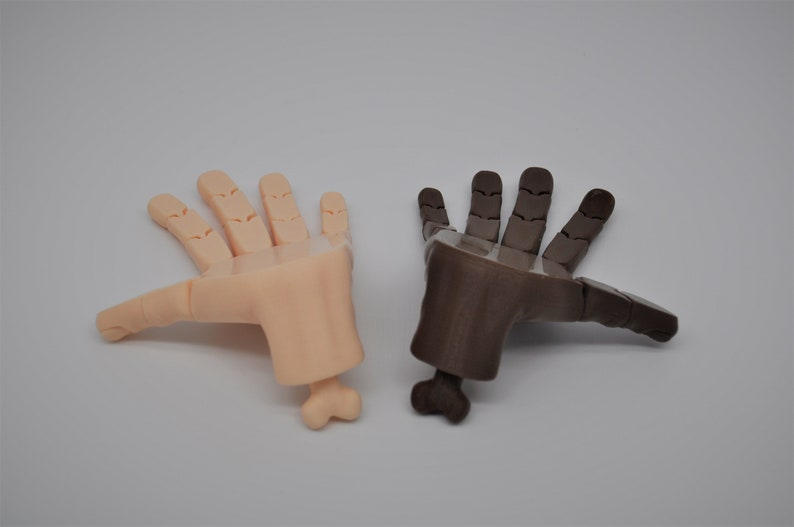 Flexi-Hand ToyKnick Knack 3D Printed