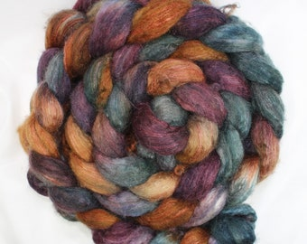 hand dyed roving for spinning of  camel Yak and camel fiber for spinning yak and silk