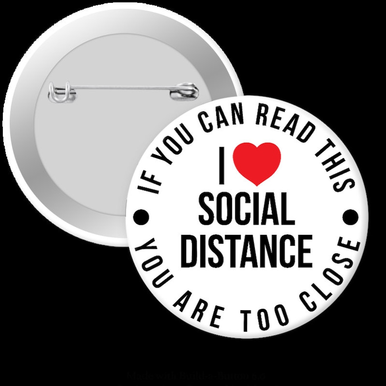 I love social distancing  if you can read this you are too image 0