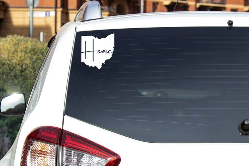 Ohio Home Vinyl Decal  Various colors available image 0