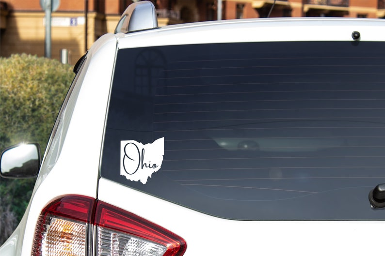 Ohio State Vinyl Decal  Various colors available image 0