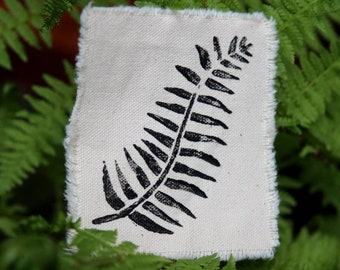 Iron On Baby Fern Patch