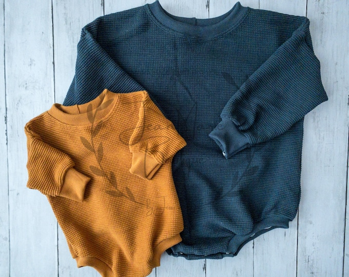 Featured listing image: Sweater Romper with Snaps