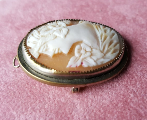 40x30mm Shell Cameo Lady Piece for Pendant Bead and Brooch g7901