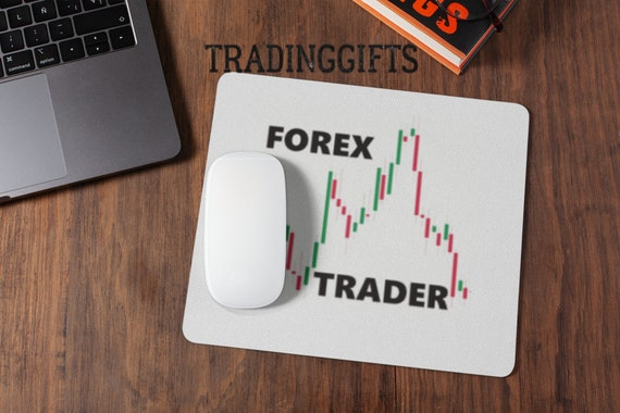 Forex Trading Bullish Traders Stock Market Exchange Day Trader Gifts Crypto Currency Personalised Mouse Pad Computer Personalized Mouse Mat