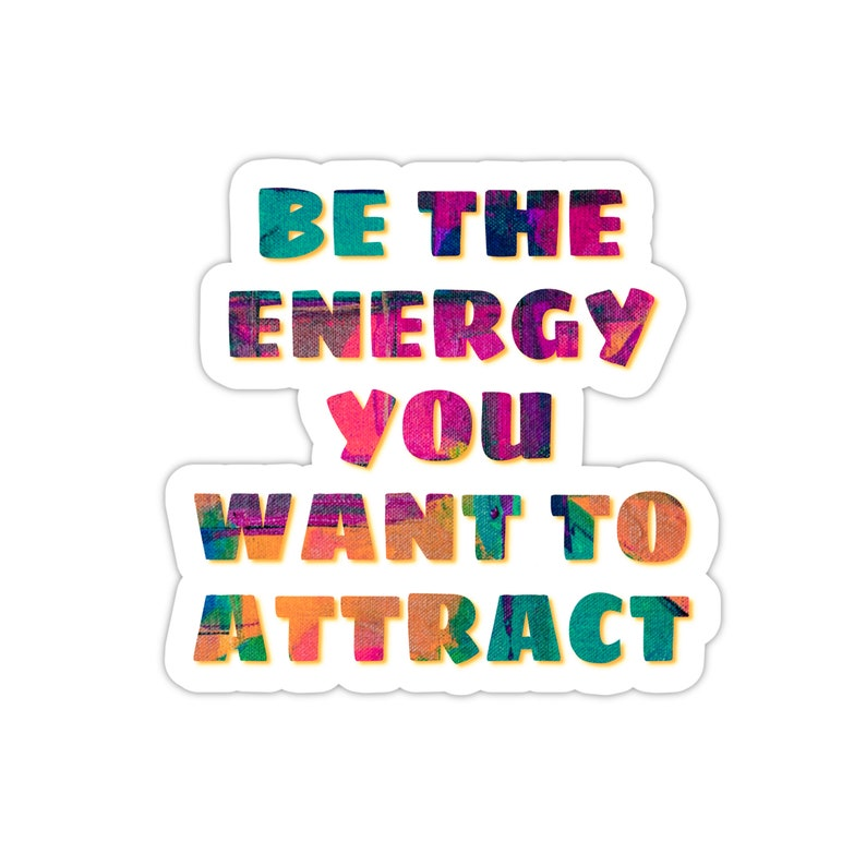Witch Stickers Law Of Attraction Manifest Sticker Motivational Sticker Spiritual Stickers Yoga Stickers Aesthetic Laptop Vinyl Decal