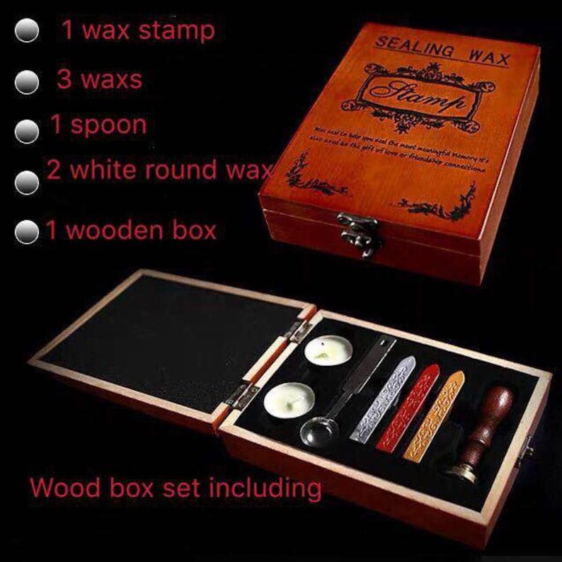 Swan wax seal stampSwan in the river  wax seal stamp beautiful swan wax sealing kitwax stove  wedding wax stamp  box set