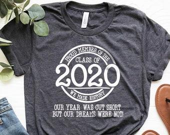 Senior 2020 Senior Peace Shirt Senior Out Shirt Class of 2020 Shirt Unisex Senior Shirt Custom Senior Shirt Shirts for Seniors
