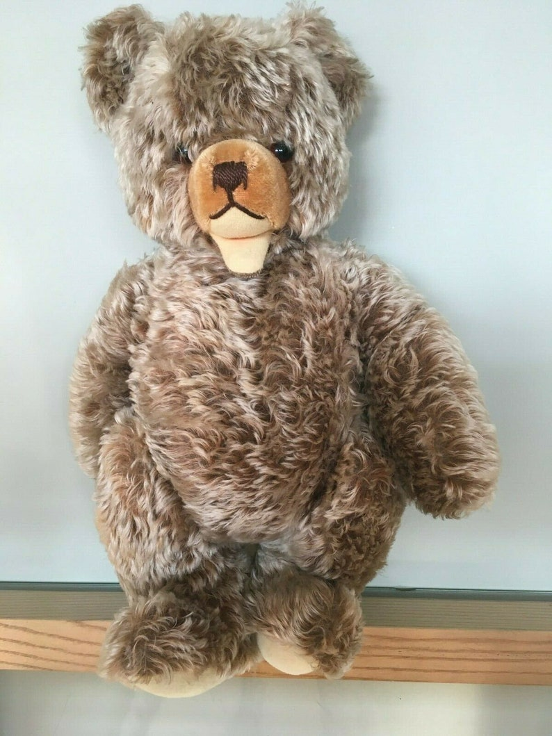 Rare Very Large Size - 50 cm - 20 inch Steiff Zotty Teddy Bear