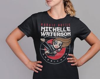 Karate Hottie Michelle Waterson Graphic Fighter Wear Unisex T-Shirt