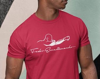 Fedor Emelianenko MMA Legend Graphic Fighter Wear Unisex T-Shirt