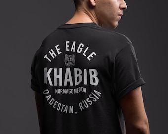 The Eagle Khabib Front & Back Graphic Unisex T-Shirt