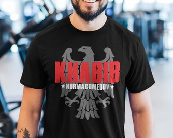 Khabib The Eagle Nurmagomedov GOAT Fighter Wear Graphic Unisex T-Shirt
