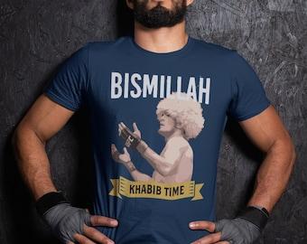 Khabib Time Graphic Nurmagomedov Fighter Wear Unisex T-Shirt