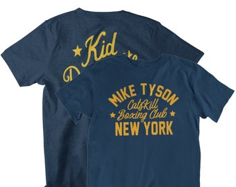 Kid Dynamite Classic  Mike Tyson Front & Back Graphic Unisex T-Shirt