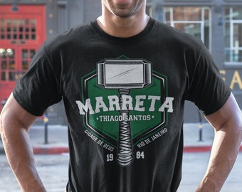 Thiago Marreta Santos Fighter Wear Unisex T-Shirt