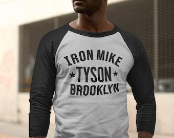 Iron Mike Tyson Classic Raglan 3/4 Unisex T-Shirt