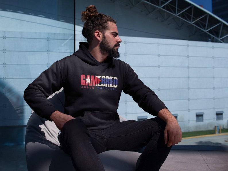 Gamebred Jorge Masvidal MMA Fighter Wear Unisex Hoodie image 0