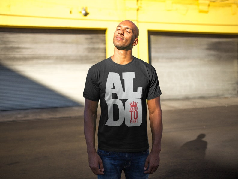 Jose Aldo Graphic MMA Fighter Wear Unisex T-Shirt Black