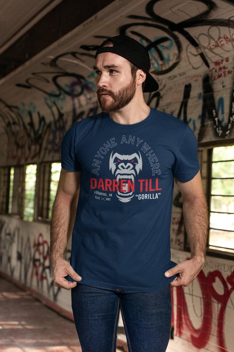 Darren The Gorilla Till Anyone Anywhere Fighter Wear Unisex Navy