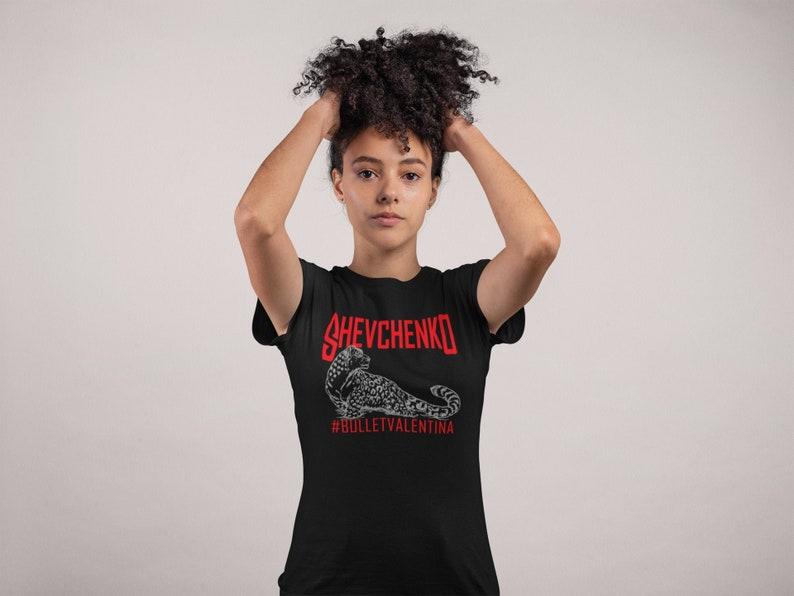 Bullet Valentina Shevchenko WMMA Fighter Wear Unisex T-Shirt image 1