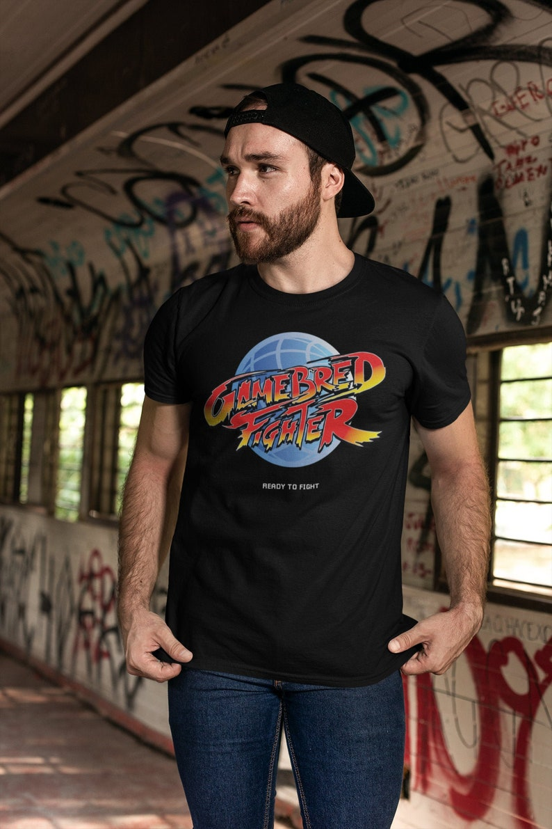 Jorge Masvidal Gamebred MMA Fighter Graphic Unisex T-Shirt image 0