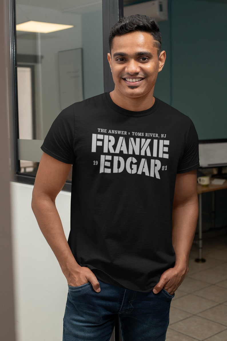 The Answer Frankie Edgar Graphic Fighter Wear Unisex T-Shirt image 0