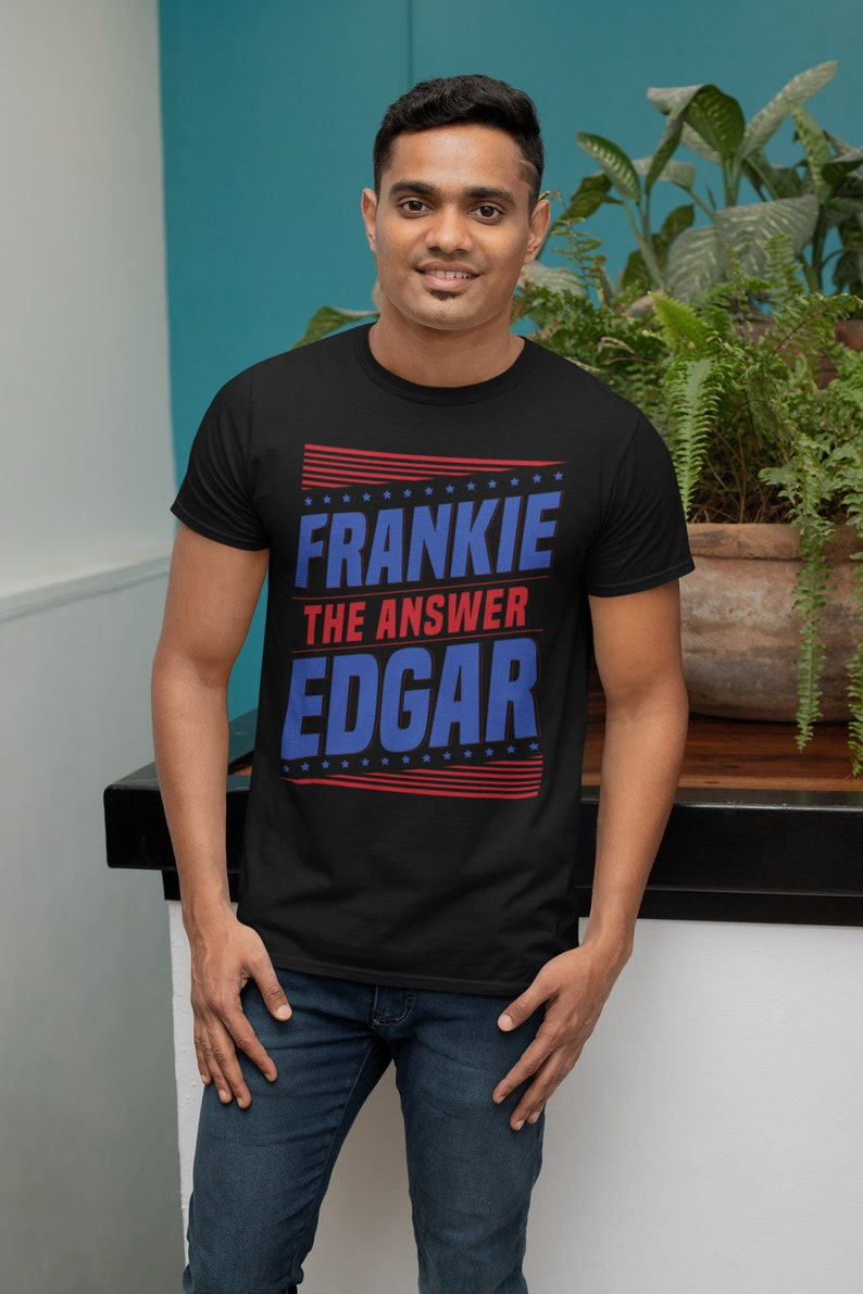 Frankie Edgar The Answer Graphic Fighter Wear Unisex T-Shirt image 0