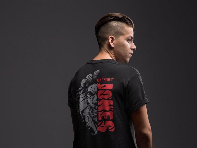 Jon Bones Jones Graphic Fighter Wear Unisex T-Shirt image 0