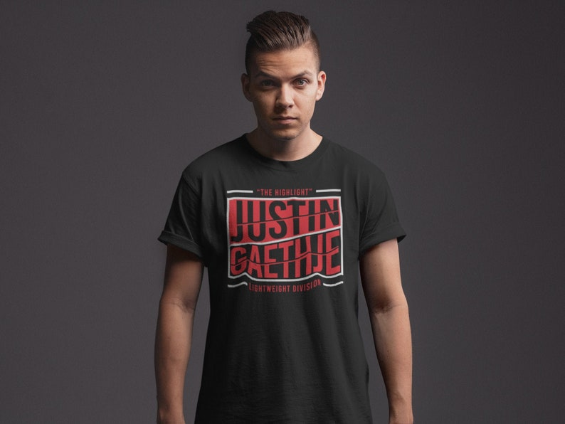 Justin Gaethje The Highlight Fighter Wear Unisex T-Shirt image 0